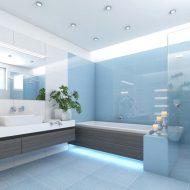badezimmer fliesen mit spiegel massanfertigung Einzigartige Glas für Ihr Badezimmer Duschwände vom Glaser aus der